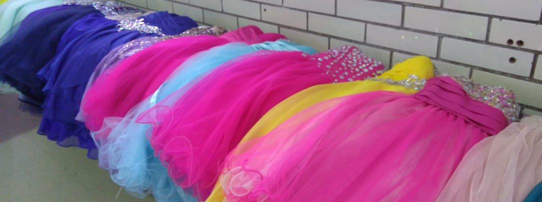 dresses donated to grad program